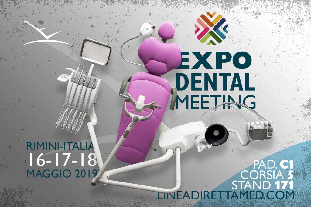 EXPO DENTAL MEETING 2019 – PRESENTAZIONE NUOVO RIUNITO KISS